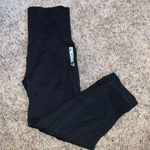 Gymshark seamless cropped leggings